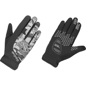 GripGrab Rebel Winter Gloves Kids Black/Grey